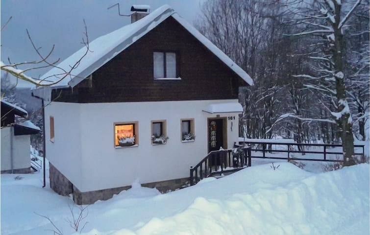 Holiday cottage with 2 bedrooms on 77m² in Nove Hamry