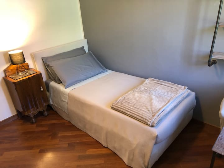 Enjoy Milan at Comfy Single Bedroom w/ Garden View