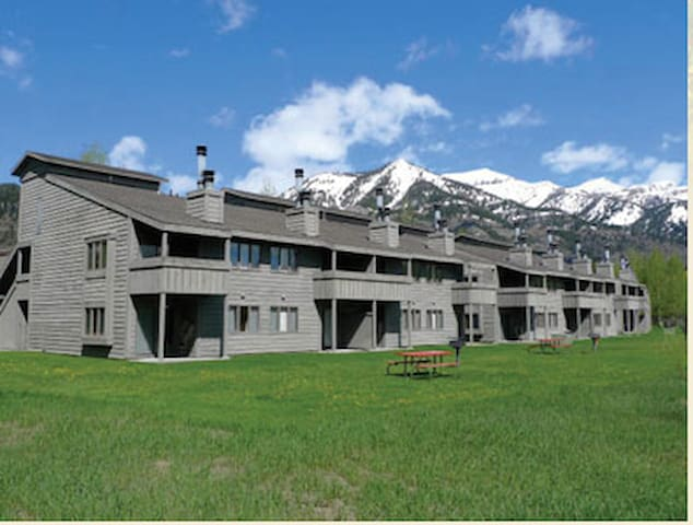 Jackson Hole Racquet Club-2BR+LOFT-sleeps 8
