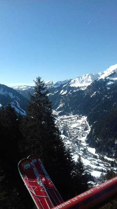 Nearby chatel