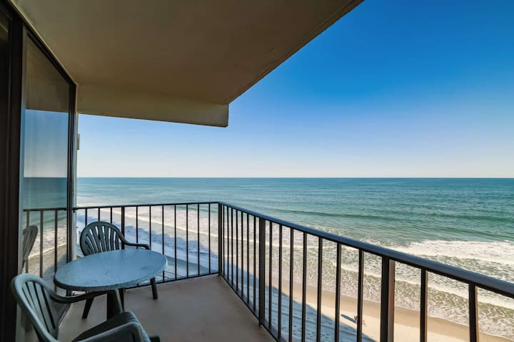 Perfect 4th Floor Oceanfront 2BR, King Bed, Great Winter Home, Indoor Pool & Hot Tub Book 2017 Now! - Garden City - Lyxvåning