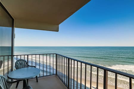 Perfect 4th Floor Oceanfront 2BR, King Bed, Great Winter Home, Indoor Pool & Hot Tub Book 2017 Now! - Garden City - Wohnung