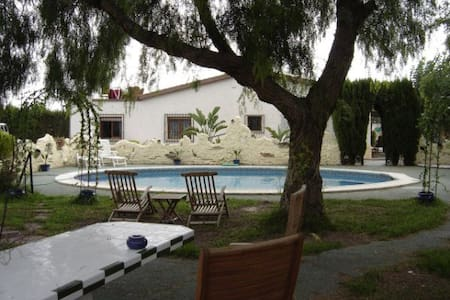 beautiful private villa with large garden and pool - Crevillent - Villa