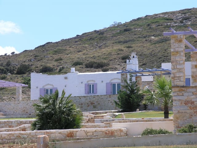 Family villa in front of the sea
