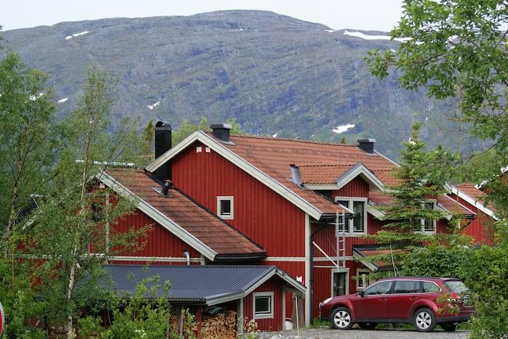 Bed and breakfast i Åre fjällen.