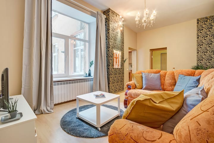 Explore Vilnius Old-Town from spacious apartment