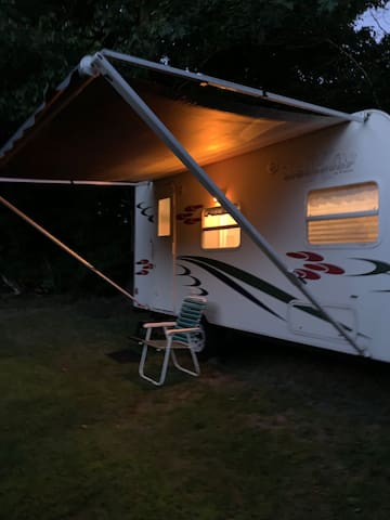 Country camping