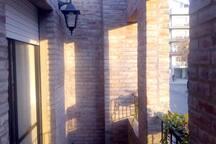 Balcón a la calle