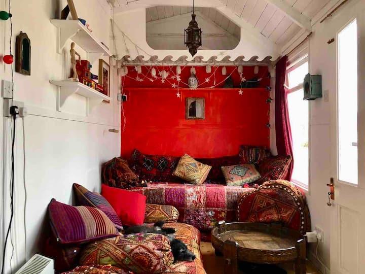 Hippy beach house