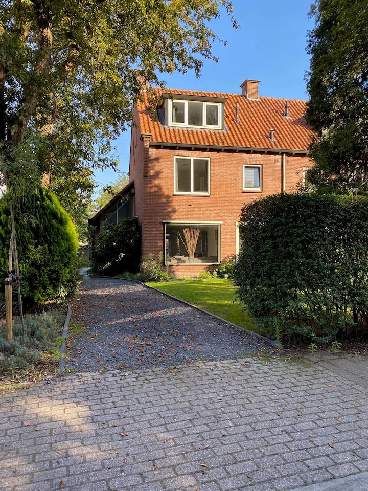 Lekker huis in Muiderberg badplaats Gooi&Amsterdam