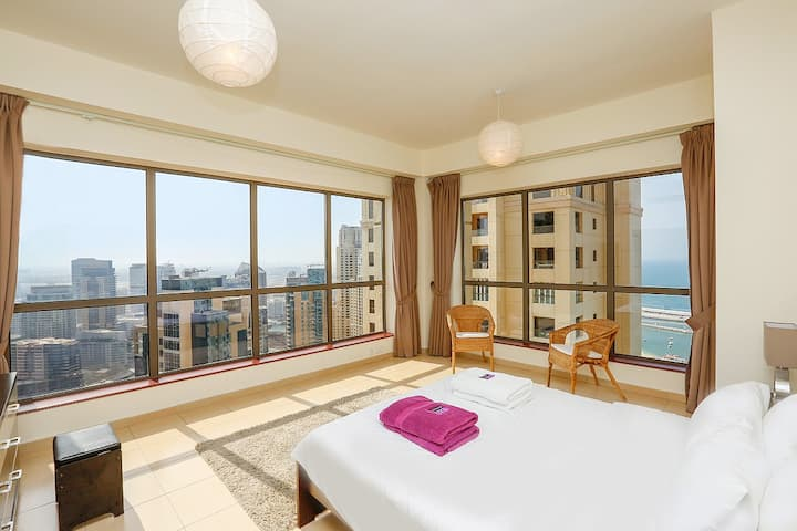 High Rise 2 BR Apartment in JBR
