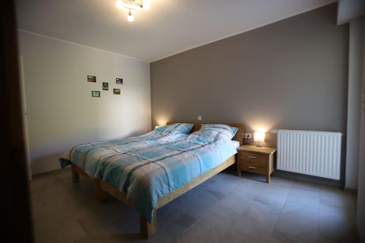 Slaapkamer 2x 1pers bed