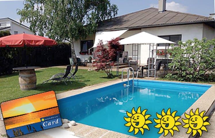 3 Sonnen Ferienwohnung - Haus Gerlinde - Mönchhof - Apartamento
