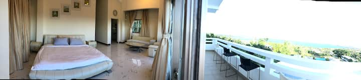 Saipan sunrise swimming pool villa NO5