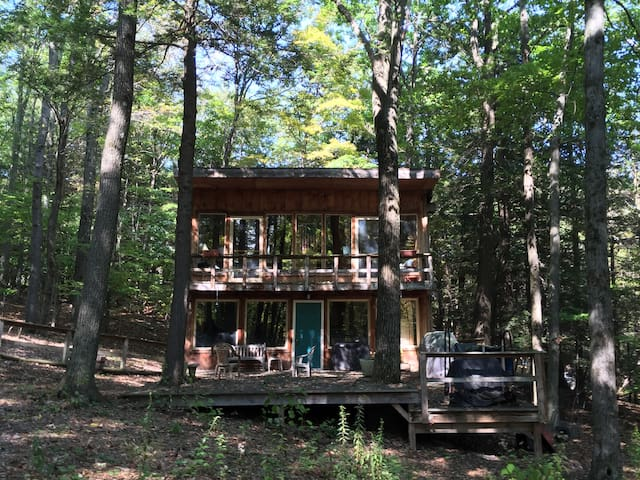Cabin in the woods near Catamount Ski resort