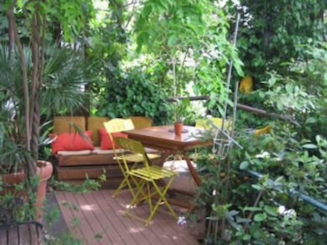 Studio terrasse Hyères - Hyères - Apartemen