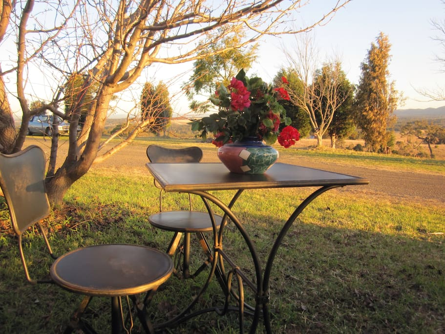 Relax and enjoy the view in garden outside your room