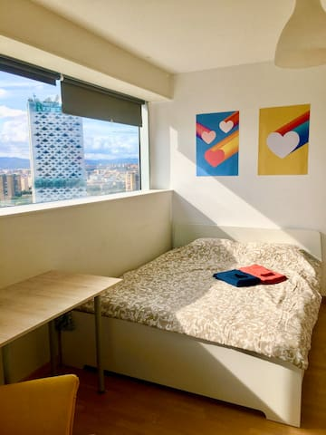 2Double Rooms With Super View in Modern Apartment