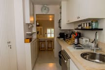 Garden suite fully equipped kitchenette