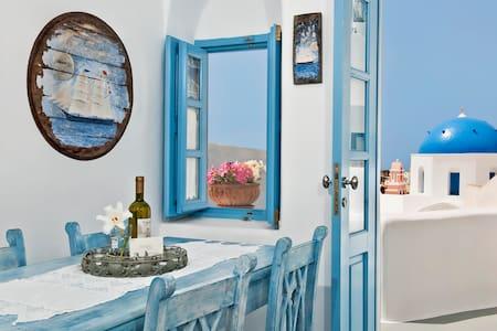 Island blue, postcard perfect view! - Oia