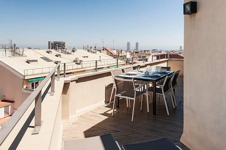 Stunning Arago312 Penthouse with Terrace