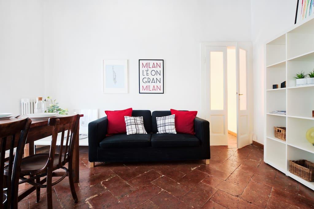 Art meets comfort in brera appartamenti in affitto a for Brera appartamenti