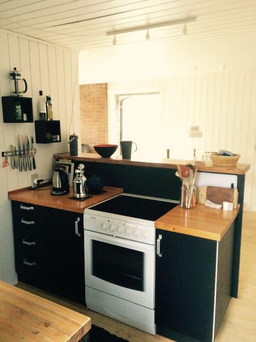 Det lille køkken