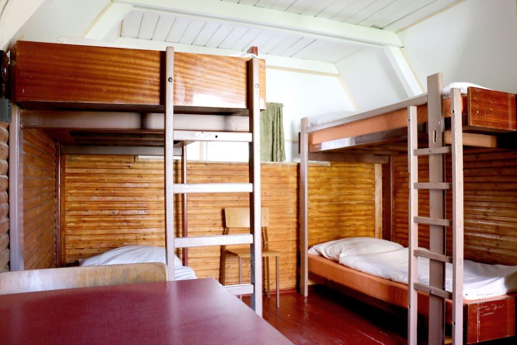 Cabins interior