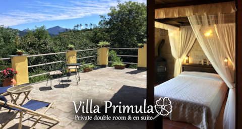 Villa Primula - Private double room & en suite