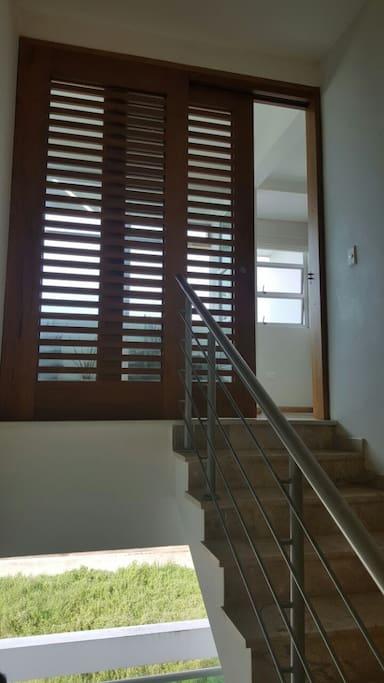 Acceso al apartamento