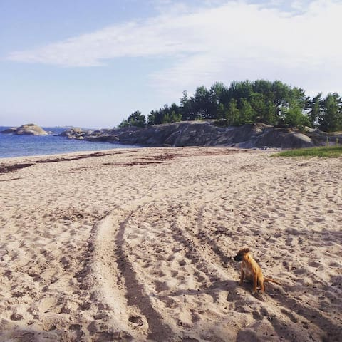 Sandhamn, Trouville. Stuga nära strandbad - Värmdö NO - Cabana