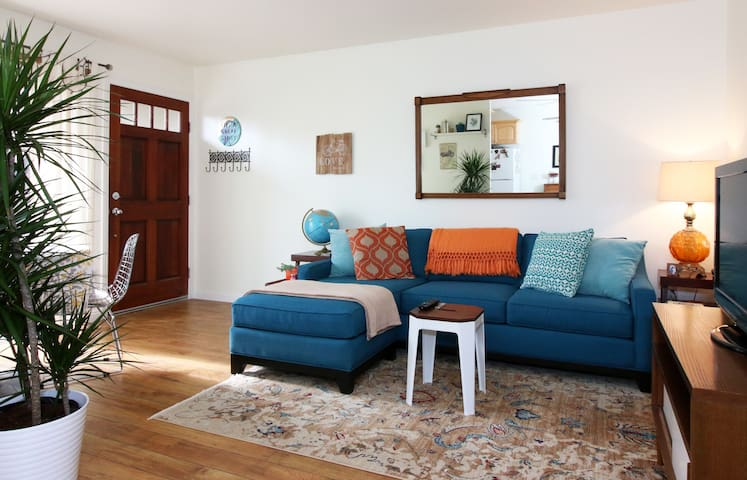Bright and comfortable living space