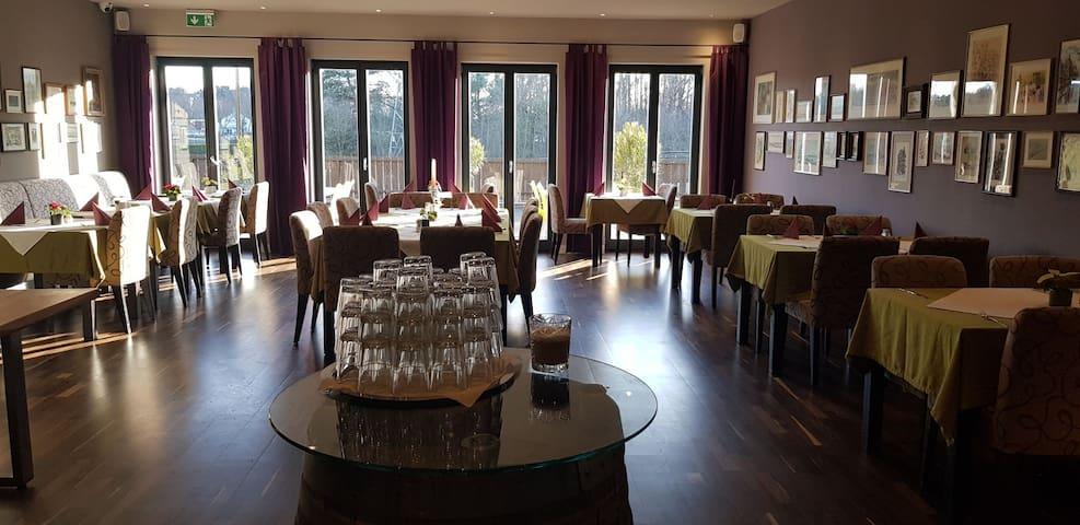 Hotel im Grünen zum entspannen