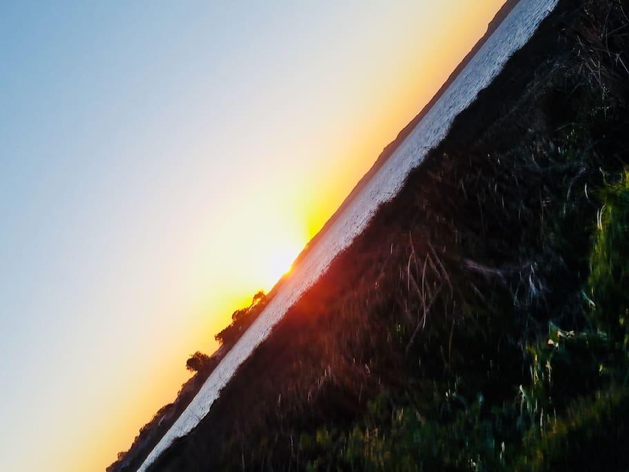 Sunset at Baywood
