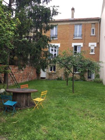 Maison avec jardin, proche Paris et Disneyland - Fontenay-sous-Bois - Hus