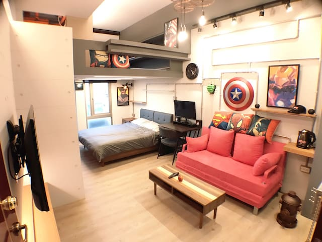 M.HOME@/Marvel industrial Loft/西門町/Taipei ximen