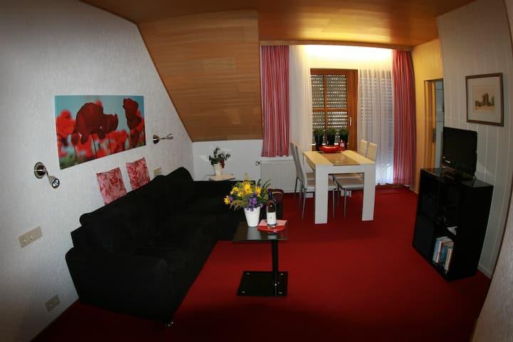 55qm² 2 Zi-Ferienwohnung  mit Zugang Dachterrasse