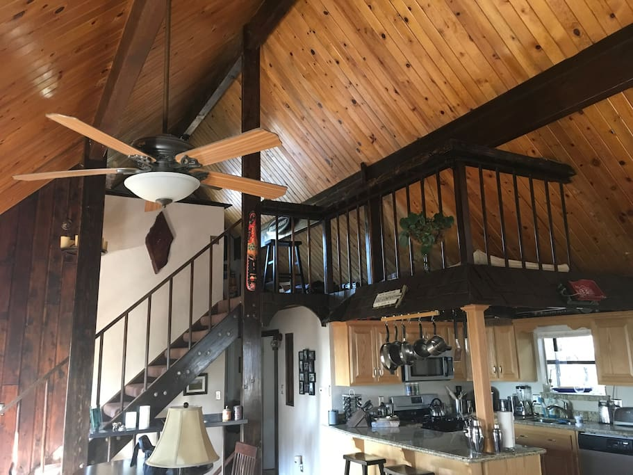 View of Loft over Kitchen