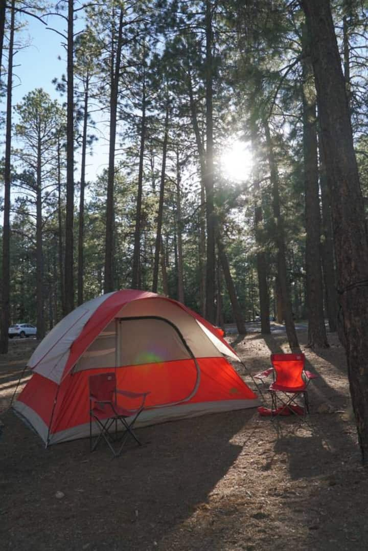 Zion Camping Tent and gear rental. 45 Min. to Zion