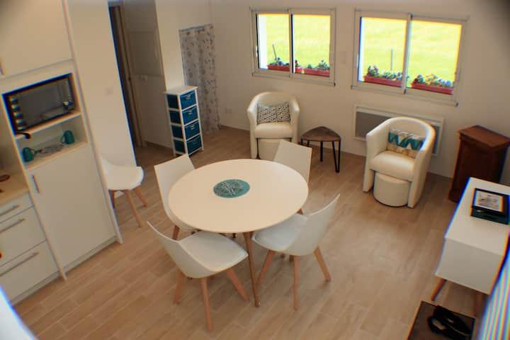 Charmant duplex neuf, cosy et calme au Pays Basque