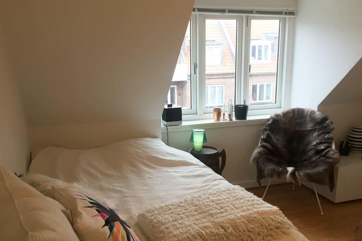 Home away from home - private room in Aarhus C - Aarhus - Apartament