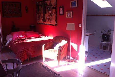 chambre double avec salle de bains privée - Paris