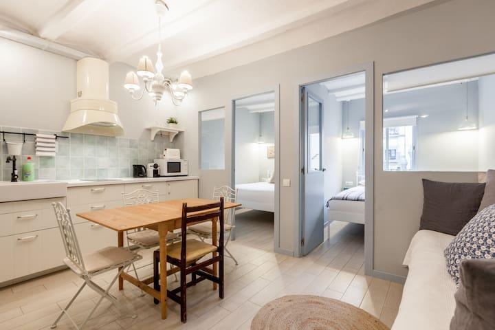 Charmant appartement dans le centre ville appartements - Chambres d hotes barcelone centre ville ...