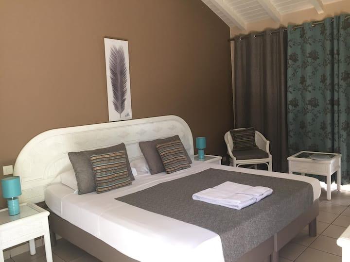 Chambre Double , Hôtel La Métisse