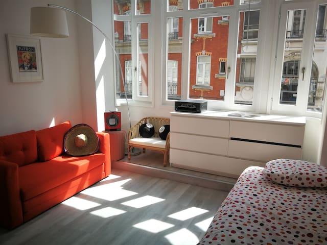 Superbe studio lumineux en plein coeur de Lille