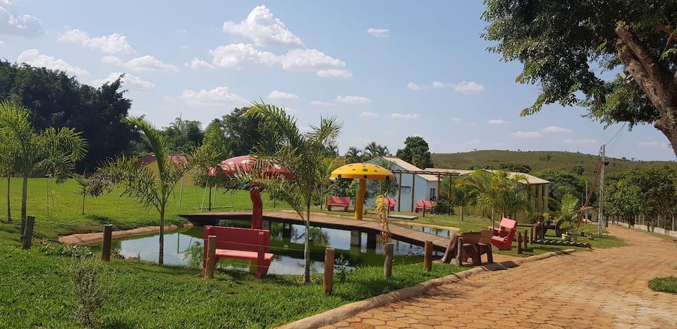 Chalé 3 - Descanso rural a uma hora de Brasília