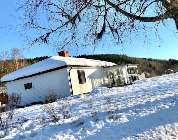 Mysig stuga I Sysslebäck nära Branäs Långberget