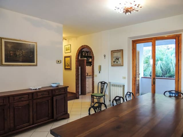 and open dining room