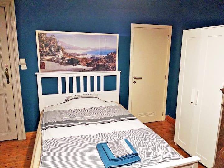 Bright & cosy studio near EU, VUB & Montgomery