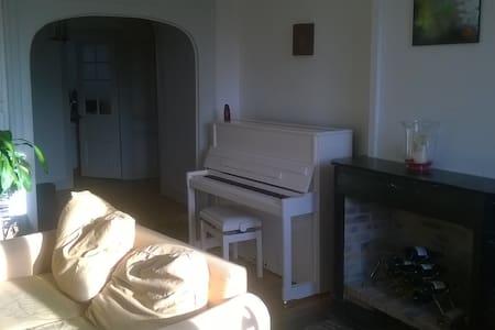 Chambre avec vue sur jardin en centre ville. - Saint-Étienne